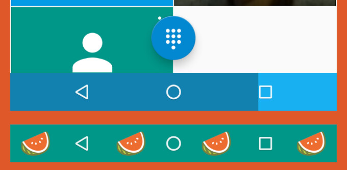 Navbar Apps lets you customize your Android device's navigation bar without the effort of rooting - You can now customize the Android navigation bar (no root required)