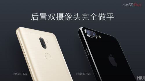 Xiaomi Mi 5s Plus design and official camera samples