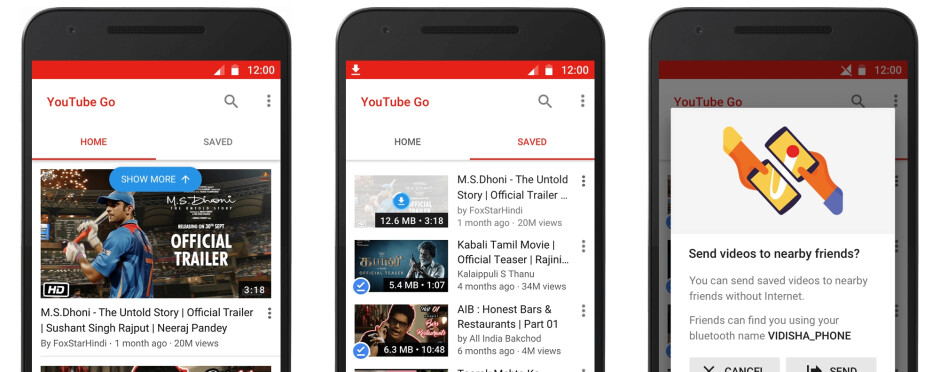 Google to launch new offline-enabled YouTube Go app