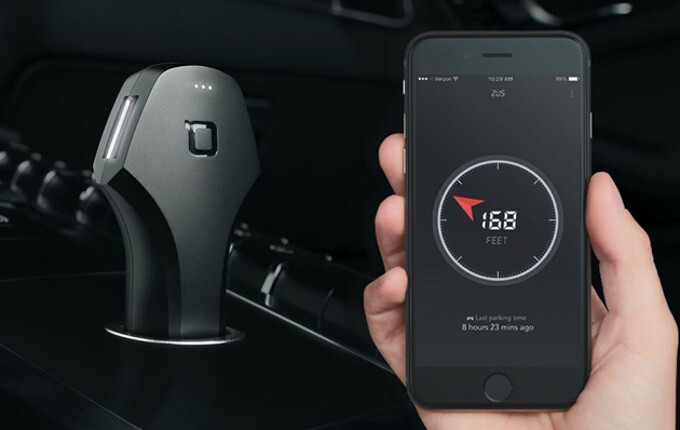 The Zus Smart Car Charger & Locator is 40% off, priced at just $29.99 for a limited time