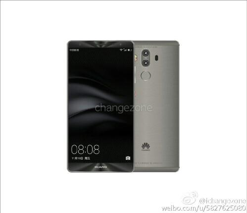 Huawei Mate 9 renders