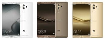 Newly-leaked renders purportedly depict the Huawei Mate 9 (full gallery below)