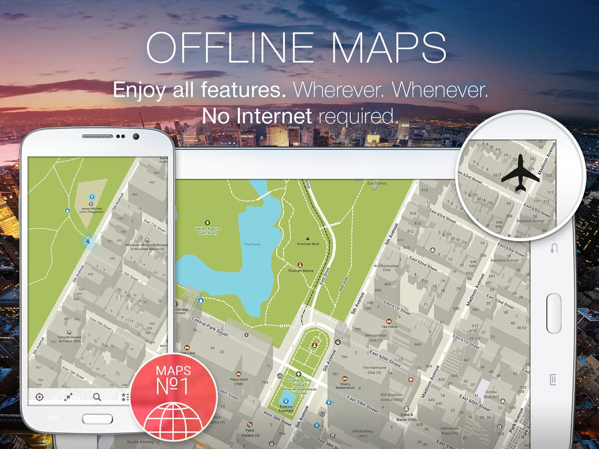 5 of the finest online and offline navigation apps for Android and iOS