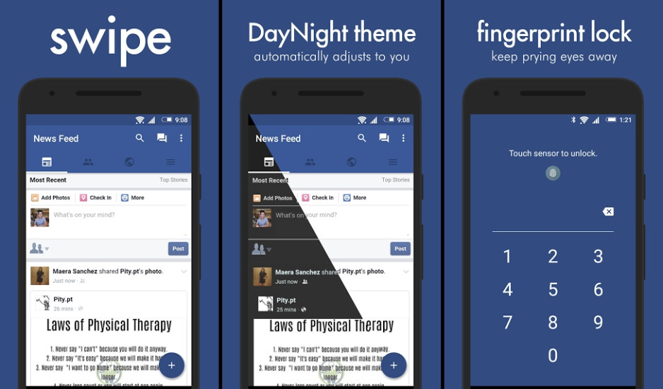 Deal: Swipe for Facebook Pro on Android is 50% off at the moment, get it for just $1.49