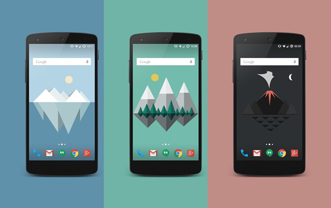 Spotlight: Material Islands is one of the best minimalistic live wallpapers we've seen