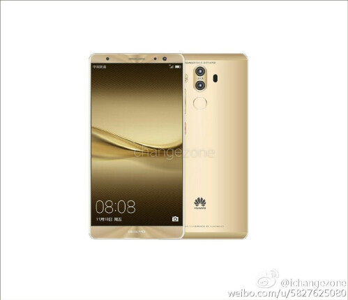 Alleged Huawei Mate 9 renders