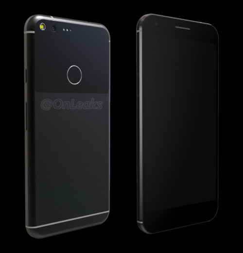 This is what the Google Pixel XL allegedly looks like