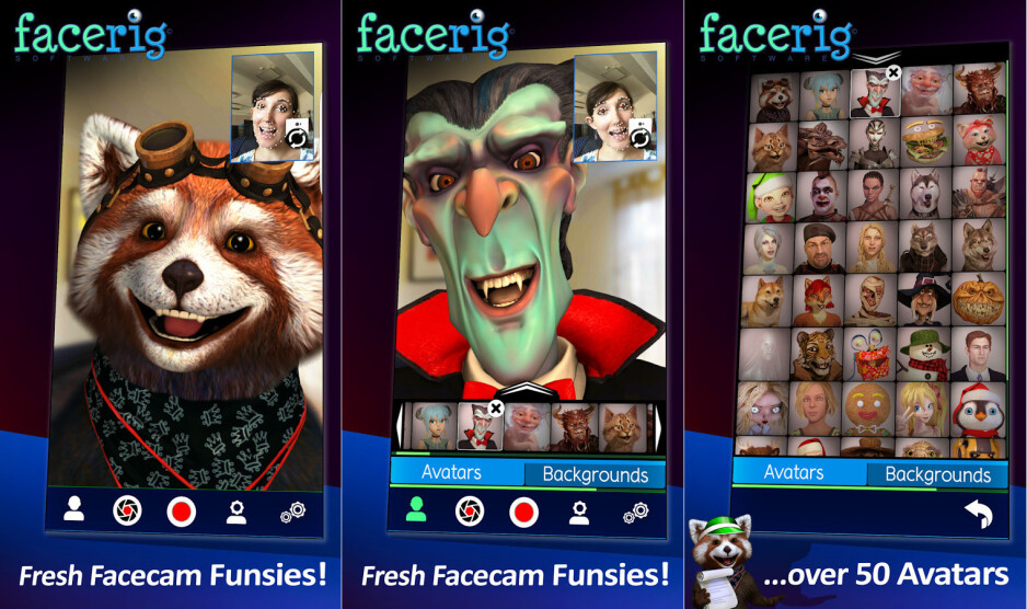 Spotlight: I've 'rigged' my face using this funny mobile app called FaceRig