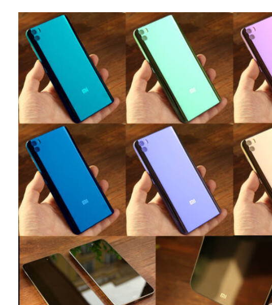 Fan-made renders of the Mi Note 2 are based on leaked rumors - Fan-made Xiaomi Mi Note 2 renders surface in pastel colors