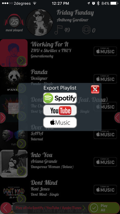Transfer your playlist between Spotify, Apple Music, iTunes
