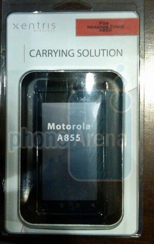 Best Buy stores starting to see Motorola Droid accessories arrive
