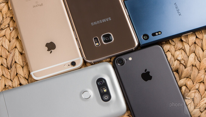 Best smartphone cameras: iPhone 7 vs iPhone 6s, Galaxy S7 edge, LG