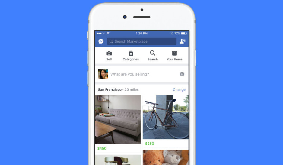 Facebook intros Marketplace for Android and iOS, wants you to buy and sell stuff within the app