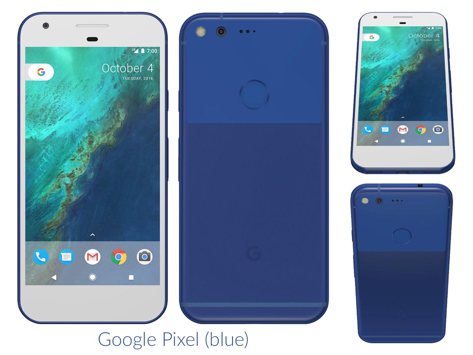 Biggest renders of the Google Pixel and Pixel XL leak ...