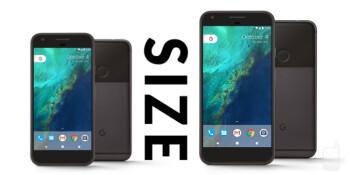 Pixel and Pixel XL size comparison versus iPhone 7, 7 Plus, Galaxy ...