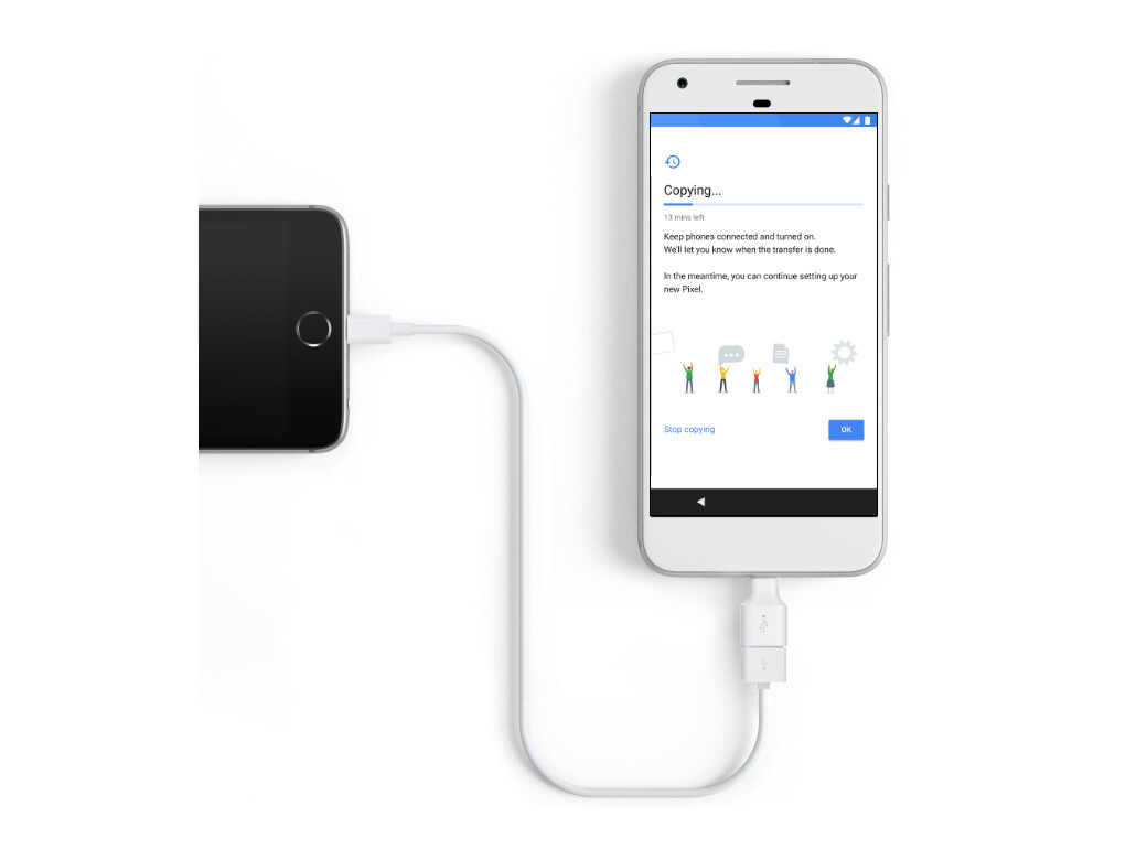 Google Pixel Quick Switch Adapter for iPhone and Android