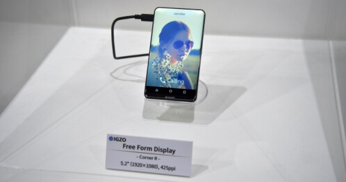 All-screen concept smartphone