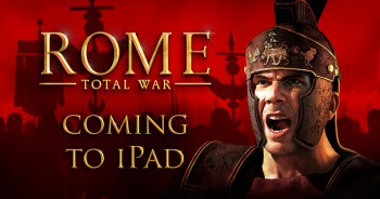 PC strategy smash hit Rome: Total War coming soon to iPad for $9.99