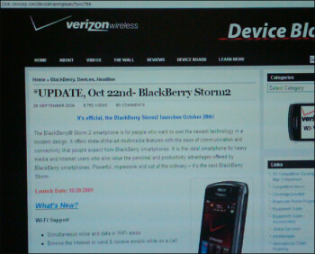 Two different Verizon documents point to October 28th as Storm2 9550 launch date