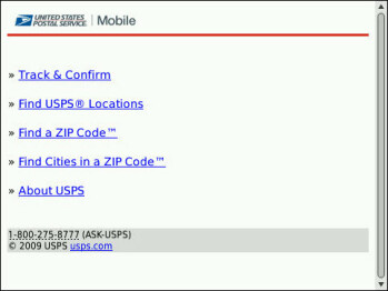 U.S. Postal Service introduces mobile web site