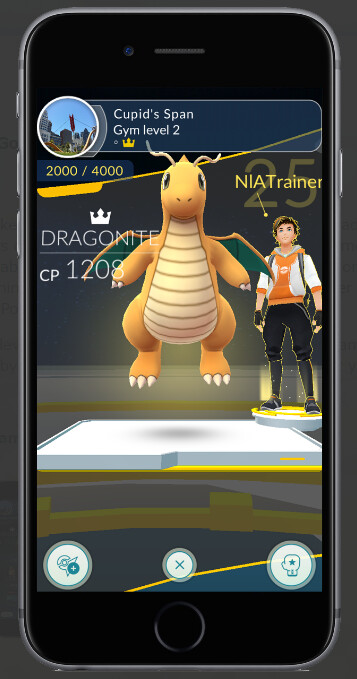 You can now bring 6 Pokemon into a gym training session...