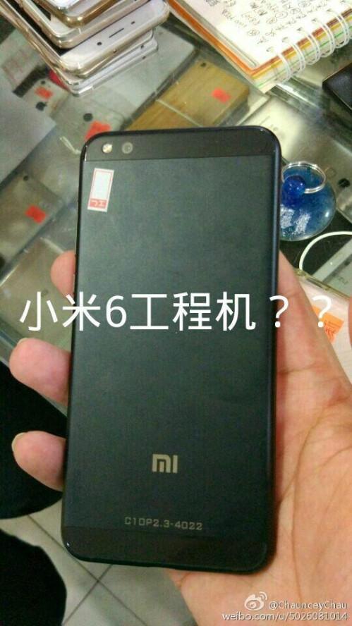Mystery Xiaomi handset seen on Weibo