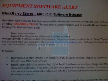 Verizon to roll-out OS 5.0 to BlackBerry Storm users