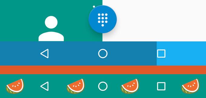 Spotlight: Navbar Apps  allows you to customize your software navigation bar, no root req'd
