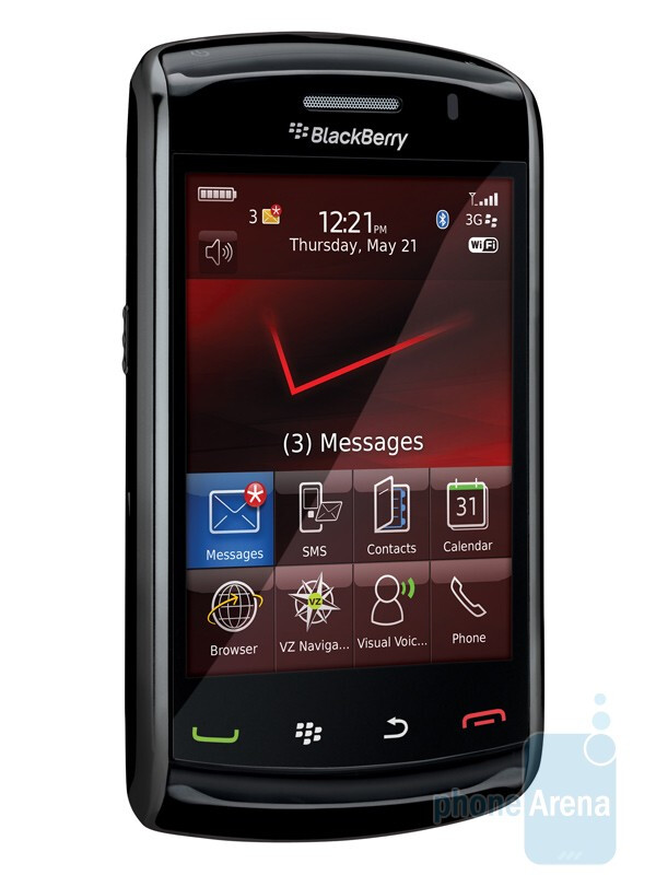 The BlackBerry Storm2 will feature a new SurePress technology - RIM BlackBerry Storm2 officially available from Verizon on October 28