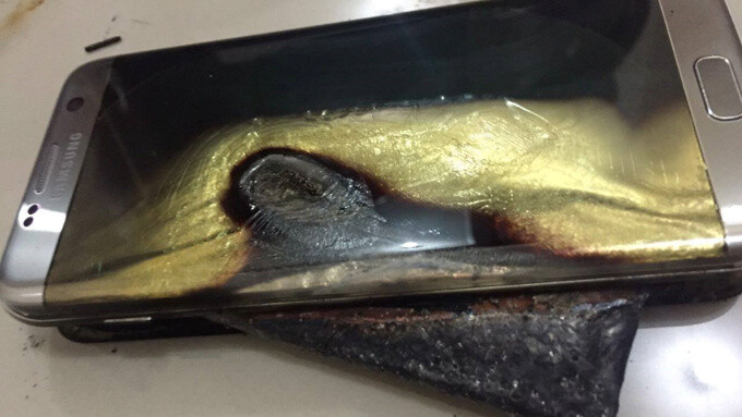 Samsung may have tweaked the SoC inside Note 7 to speed up charging, but battery couldn't handle it