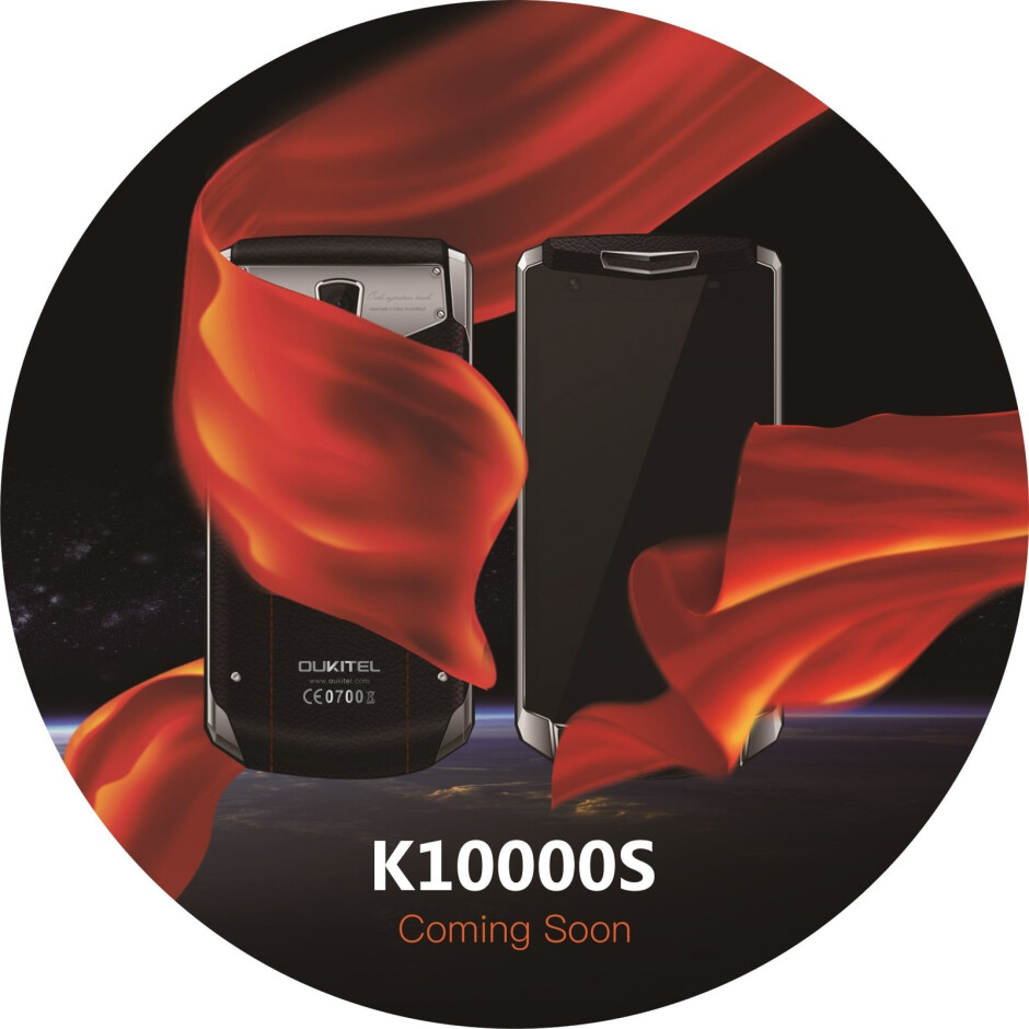 Oukitel to launch K10000S smartphone with 10,000 mAh battery