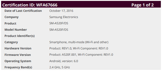 A520f Firmware