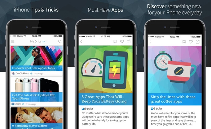 Spotlight: Drippler for iOS/Android lets you discover tons