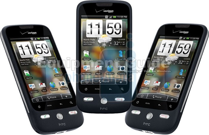 New images of the HTC Droid Eris