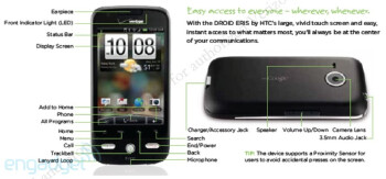 More leaked info shows HTC Droid Eris to launch at Verizon, November 6th at $99