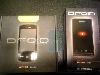 Verizon stores receiving shipments of Motorola Droid and HTC Droid Eris