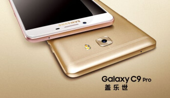 Samsung Galaxy C9 Pro officially unveiled as the manufacturer's first phone with 6GB of RAM