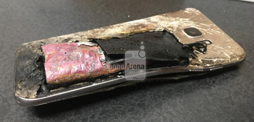 Another Samsung Galaxy S7 edge explodes