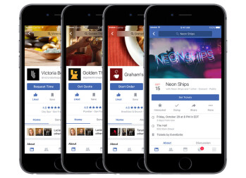 Facebook For IOS Update Adds New Recommendation System, Tickets To Movies,  More