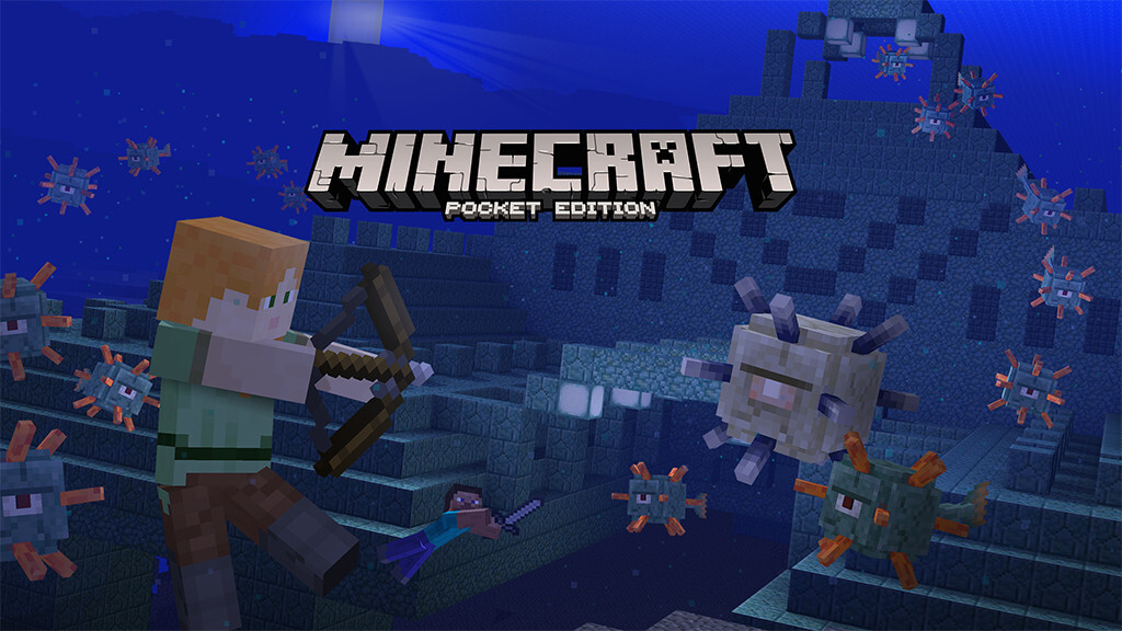 Boss Update for Minecraft: Pocket Edition adds the Wither, slash