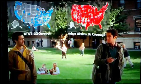 """""""There's a map for that!"""" - There's an attorney for that; AT&T sues Verizon over map ads"""