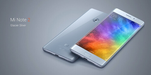 Xiaomi Mi Note 2 is officially announced