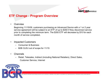 Leaked internal document confirms Verizon will hike ETF