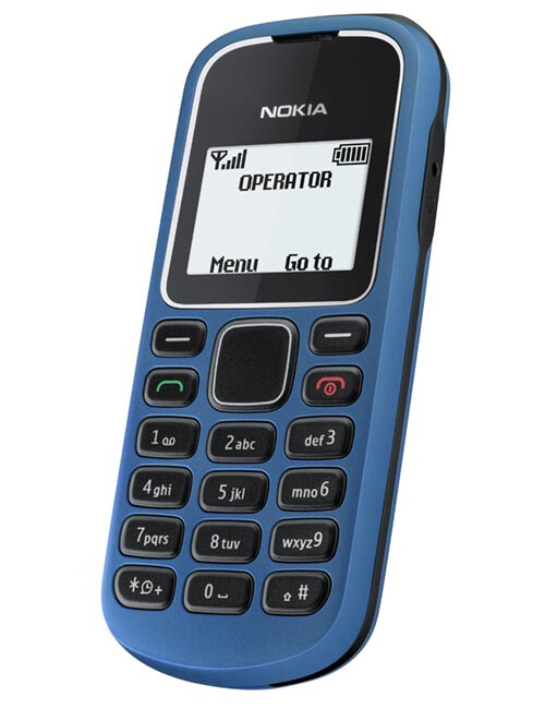 Nokia 1280 - Nokia announces 5 new handsets aimed at developing markets