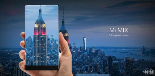 The Xiaomi Mi MIX goes official