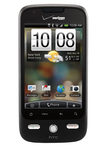 Verizon introduces its second Android, the HTC DROID ERIS