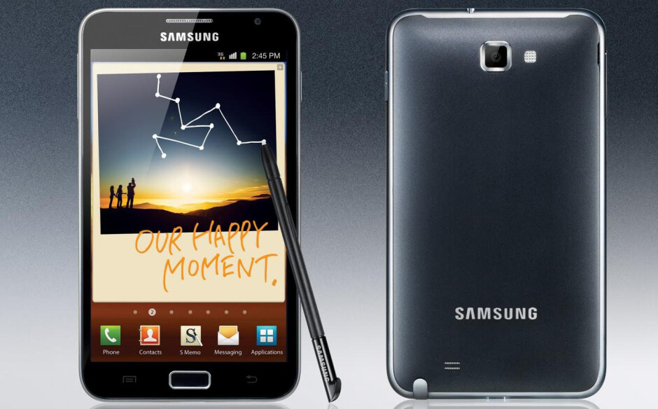 Remember the time: on this day, five years ago, Samsung launched the first Galaxy Note