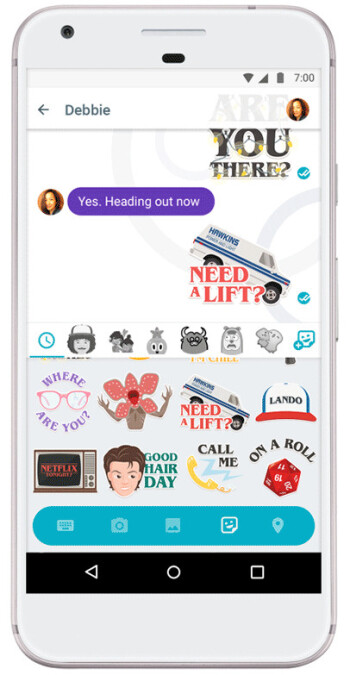 Stranger Things stickers are now available in Google Allo, split-screen mode too