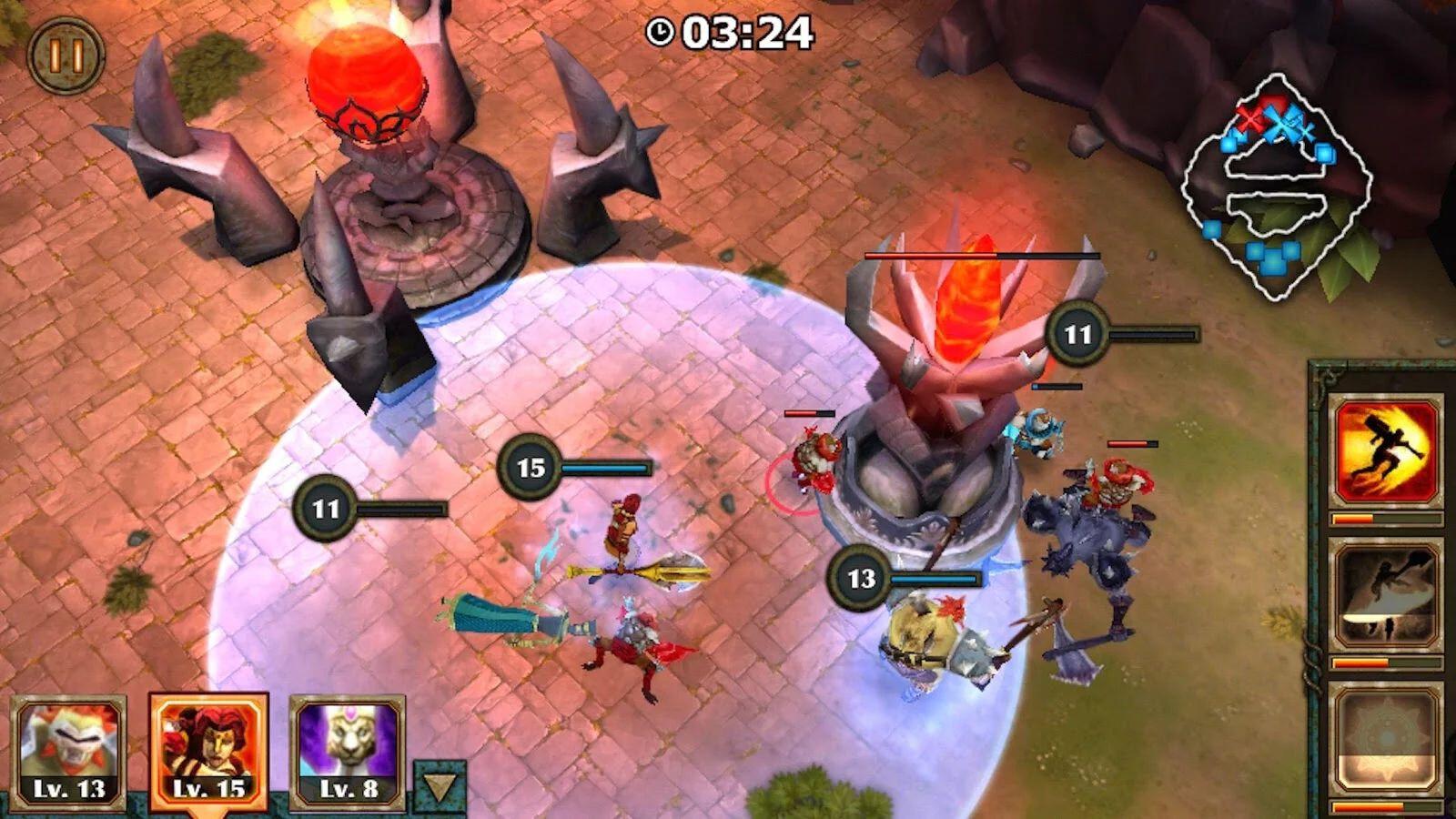 Download Game Legendary Heroes