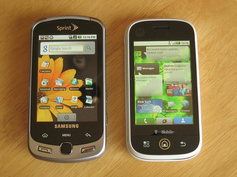 Motorola CLIQ - Hands on with the Motorola CLIQ